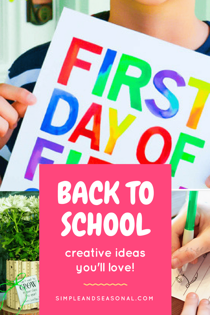 Lunch box meals, teacher gifts and organizing tips all designed to make this year's back to school season a little easier and a lot more fun! via @nmburk