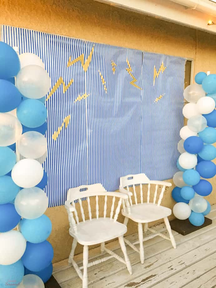 photo backdrop   Throw an unforgettable party with these fun Percy Jackson Party Ideas! Find great ideas for what food to serve, themed decorations and silly games and activities that any Rick Riordan fan will love.