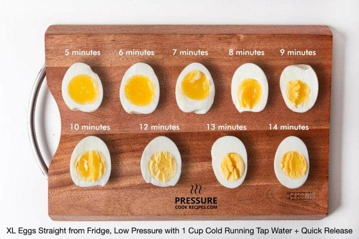 Crockpot Express Hard Boiled Eggs