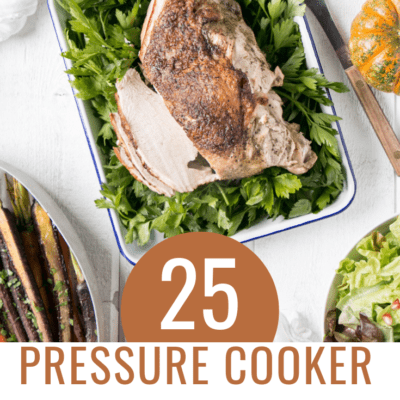 Save time and oven space by putting your pressure cooker to work this Thanksgiving! Try these Pressure Cooker Thanksgiving Recipes