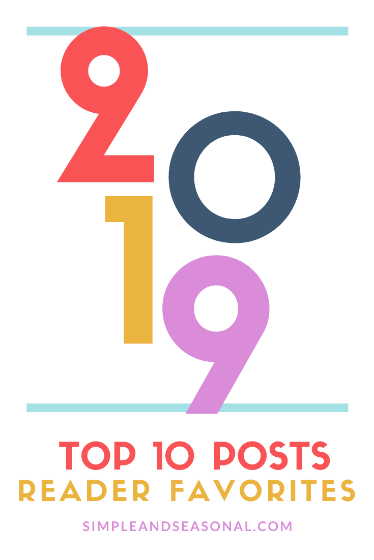 The top 10 recipes and posts on Simple and Seasonal for 2019 via @nmburk