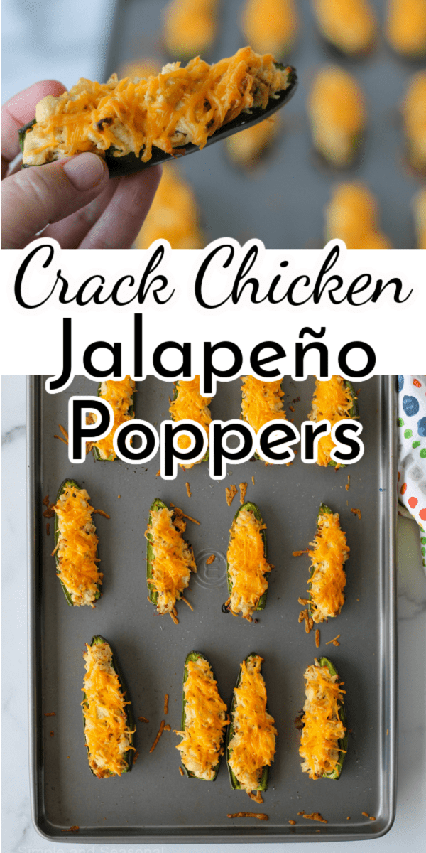 Repurpose leftovers in a delicious new way with these Crack Chicken Jalapeno Poppers. via @nmburk