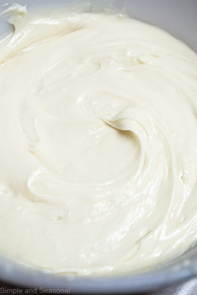 frosting in a bowl