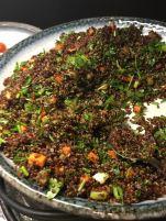 cramim breakfast salad bar-quinoa salad
