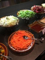 cramim dinner buffet salad bar selections