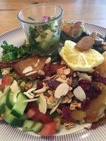 cramimi breakfast salad bar plate