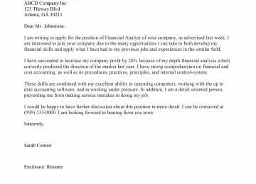 Quick Easy Cover Letter Template Collection