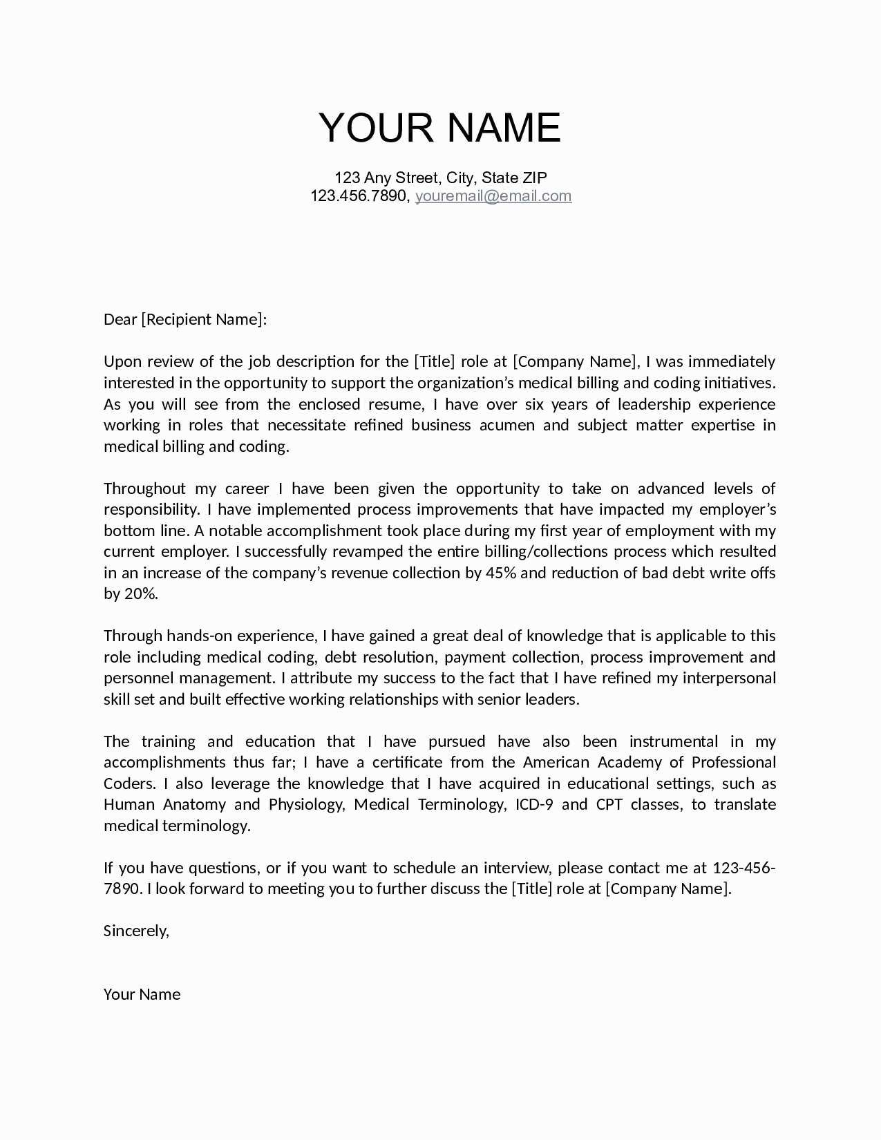 Letter Of Financial Responsibility Template Samples