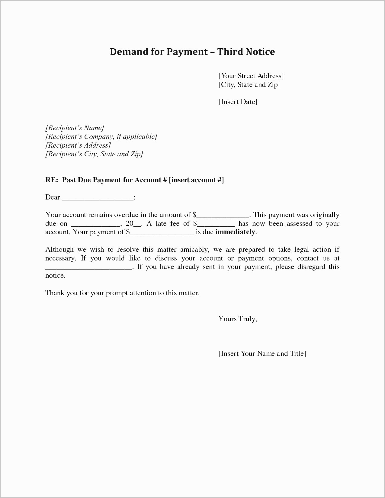 Rent Free Letter Template For Mortgage Samples