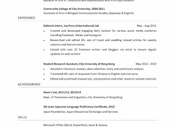 Consulting Associate Cover Letter