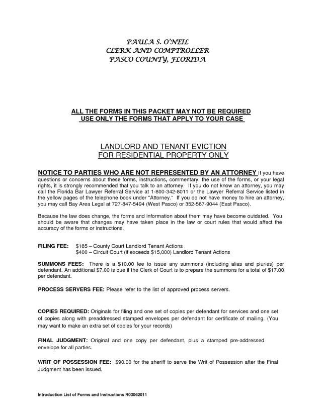 Sample Letter For Land Dispute