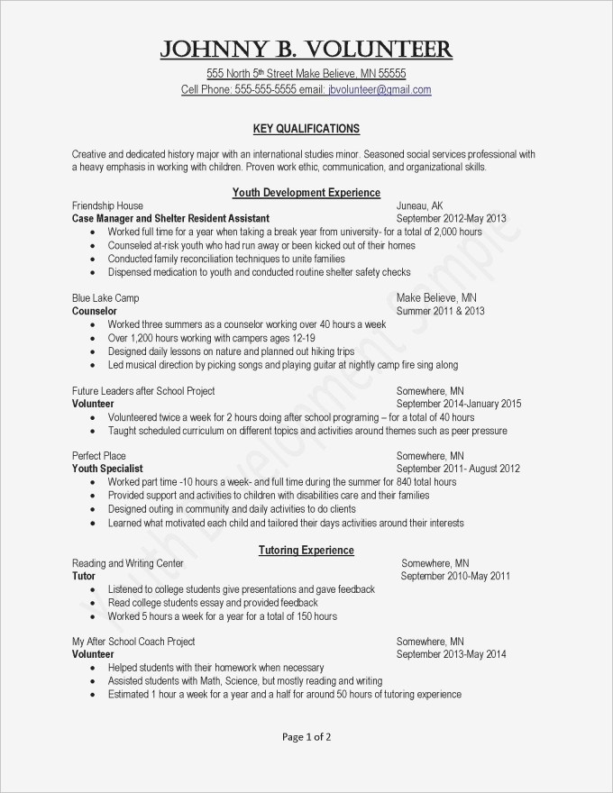 Example Volunteer Recruitment Letter | Save Template