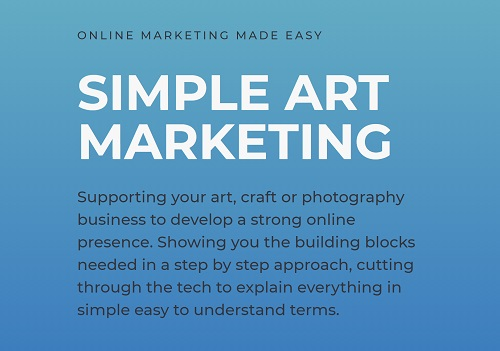 about simple art marketing