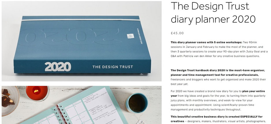 design trust business planner