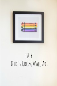 DIY Kid's Room Wall Art