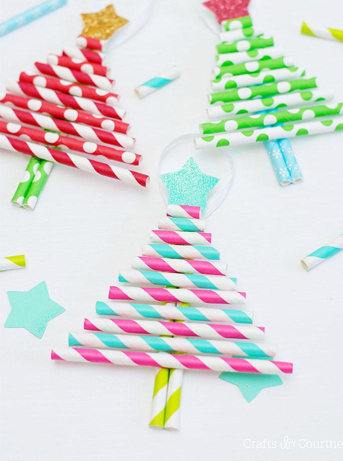 Kids Make Christmas Ornaments