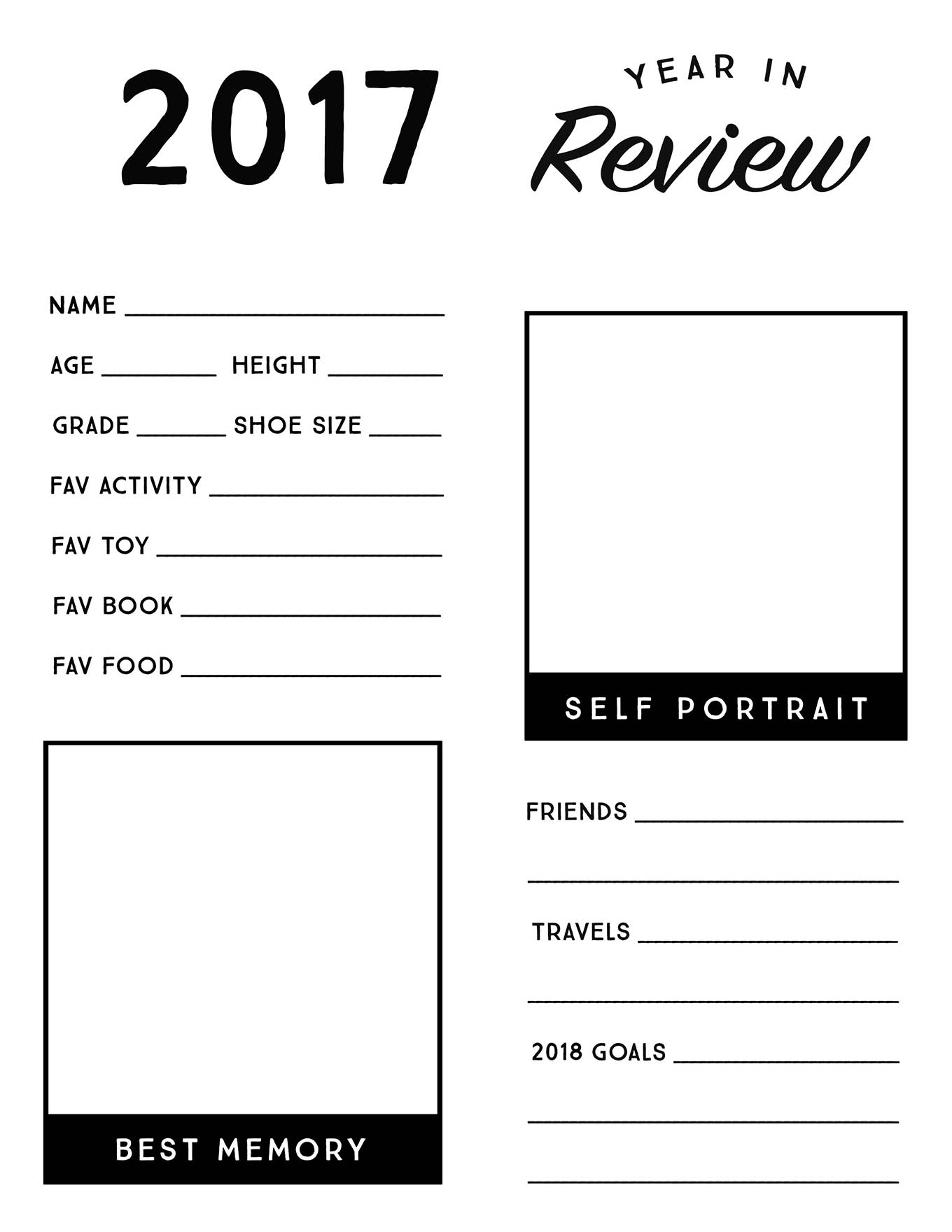 New Year S Resolution Worksheet For Kindergarten