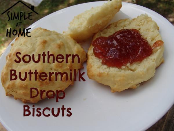 Southern Buttermilk Drop Biscuts