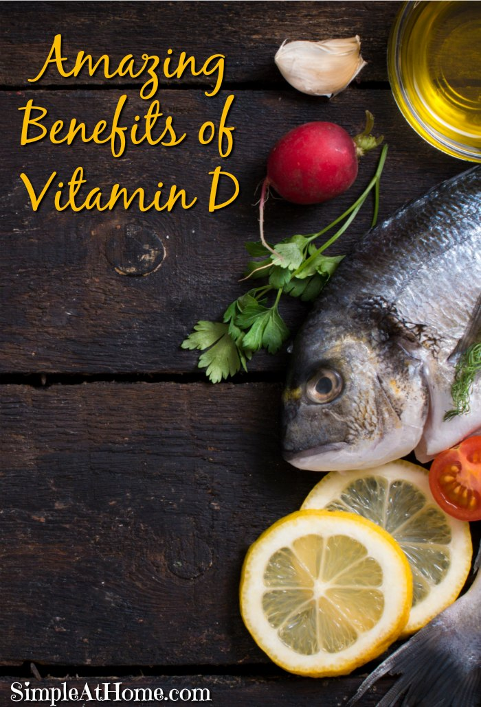 4 Amazing Benefits of Vitamin D