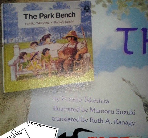 The Park Bench by Fumiko Takeshita *With Free Printable*