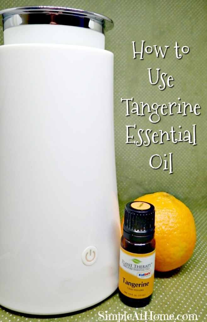 How to use Tangerine Essential oil in your home