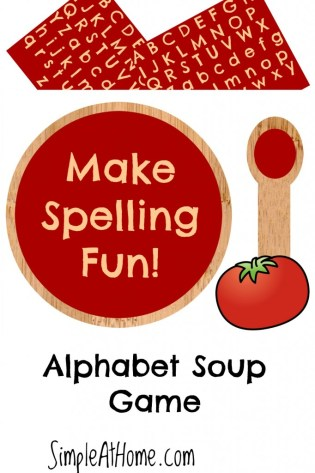 This pretend Play game can help your child learn to spell and they wont even know it.