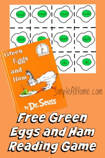 Free Printable Reading game play 3 ways.