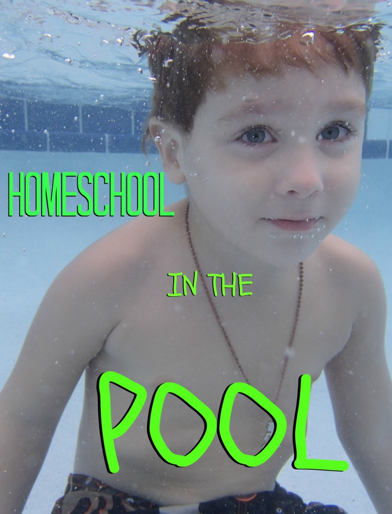 Looking to beat the heat? Take the classroom to the pool...