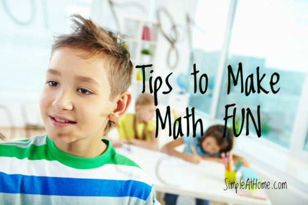 Does your child HATE math? Heres a few tricks to fix that.