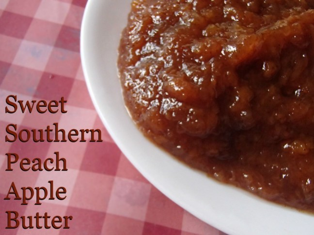 Want a new fall favorite? Try Sweet Southern Peach Apple Butter