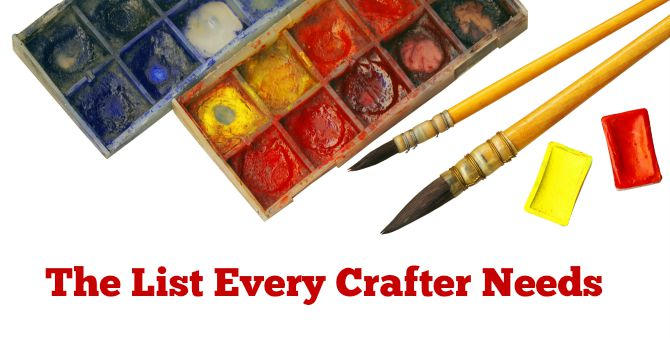 The list every crafter needs