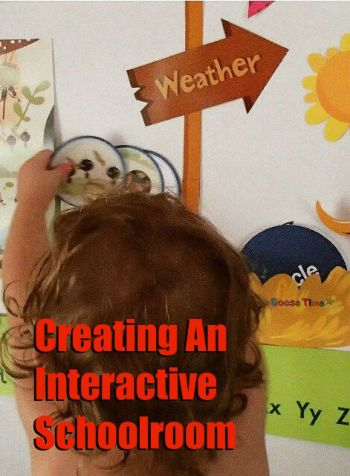 Tips for an interactive pre school schoolroom
