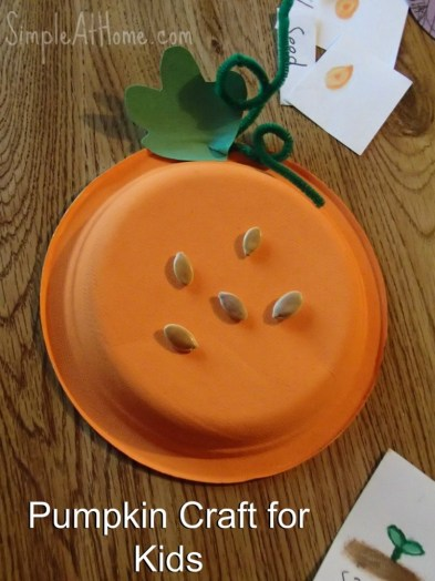 Easy Pumpkin Craft for Kids