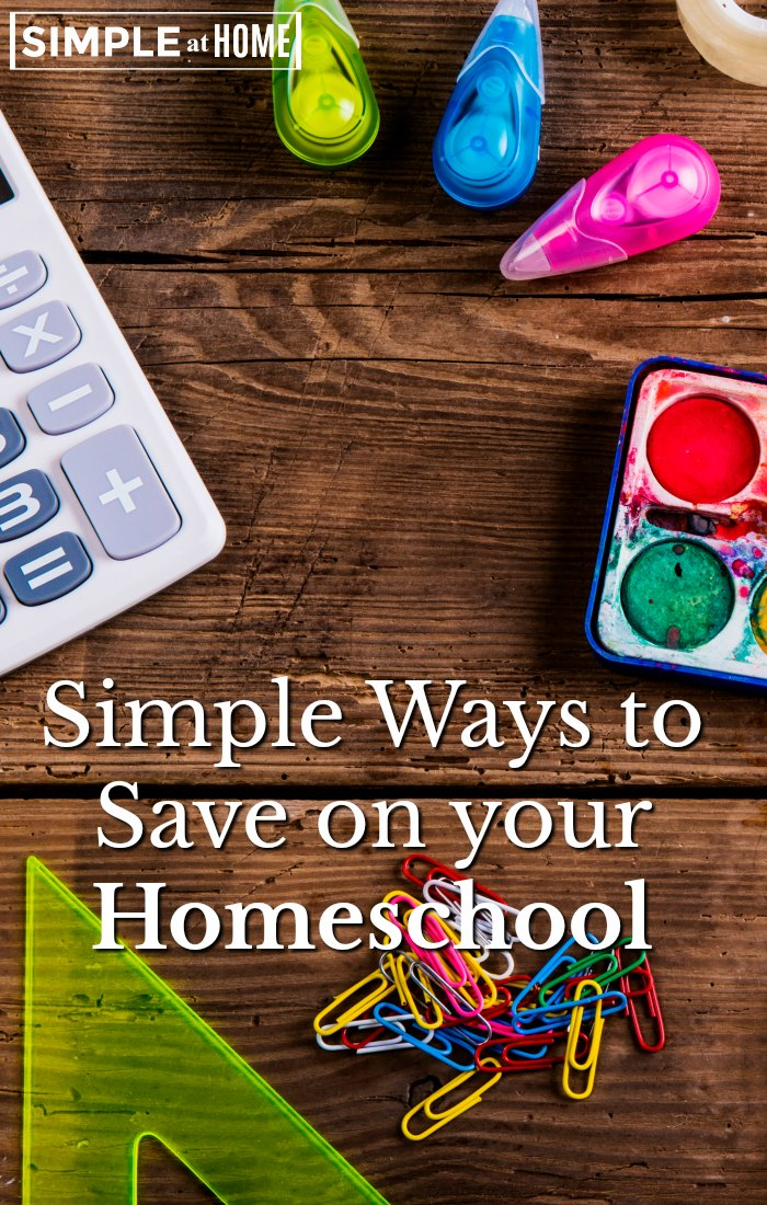Simple Ways You Can Afford to Homeschool