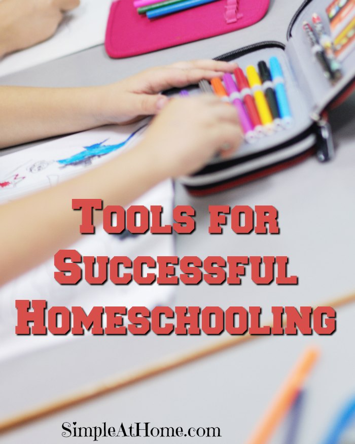 What tools you you need for homeschooling?