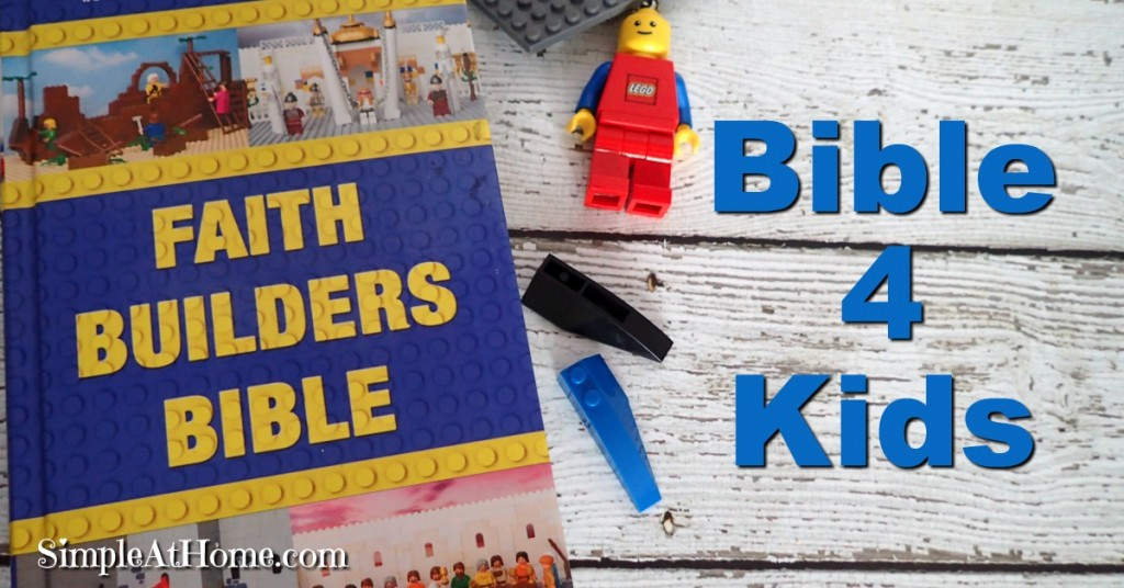 Bible plus LEGO a winning combination