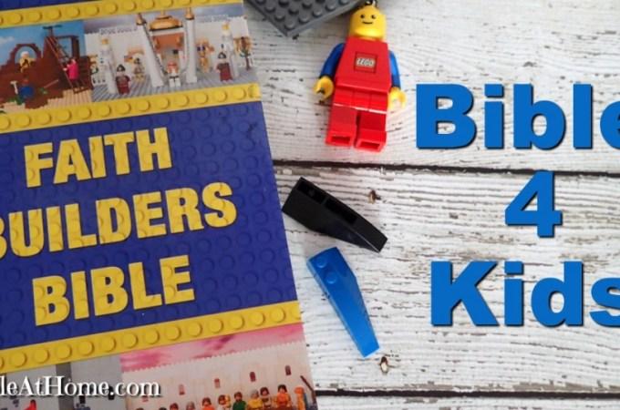 Zonderkidz Faith Builders Bible Review