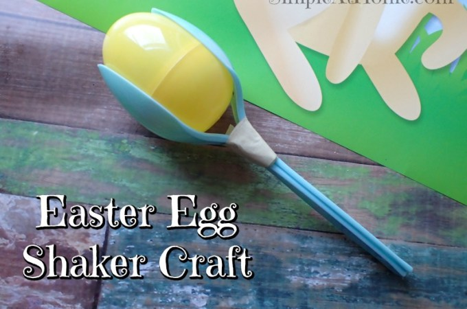 Easter Egg Shaker Craft
