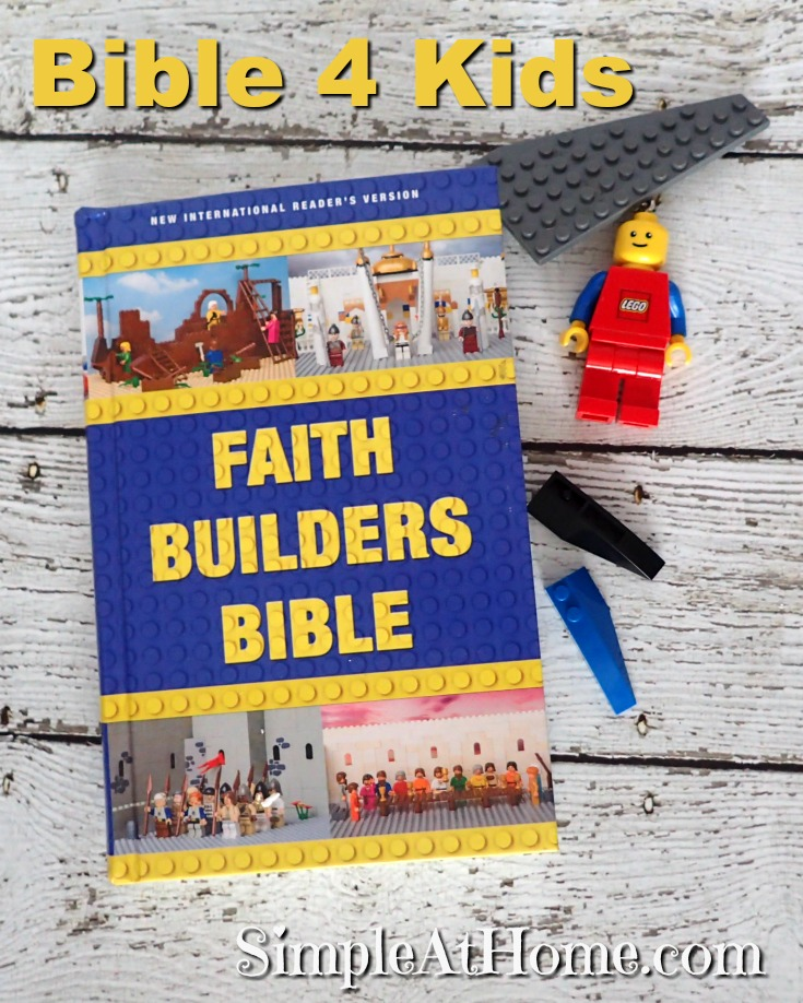 Faith Builders Bible and LEGO make an amazing combination.