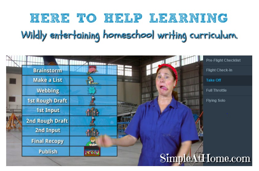 Here to Help Learning Homeschool Writing Curriculum.