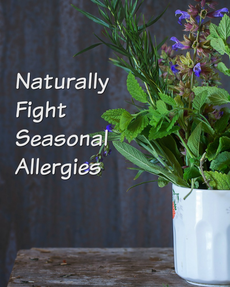 Never let seasonal allergies take you donw. Fight them naturally with these great tricks, tips, and recipes everyone should know.