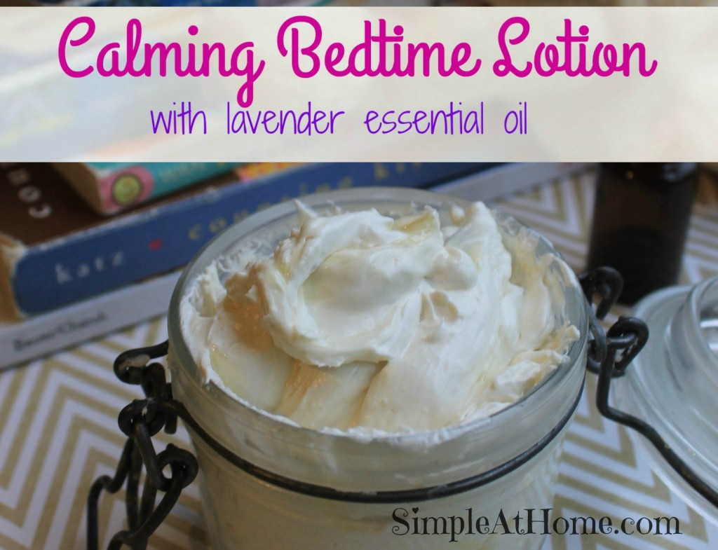calming bedtime lotion
