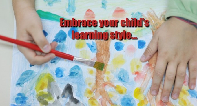 Finding and Embracing Your Preschooler's Learning Style