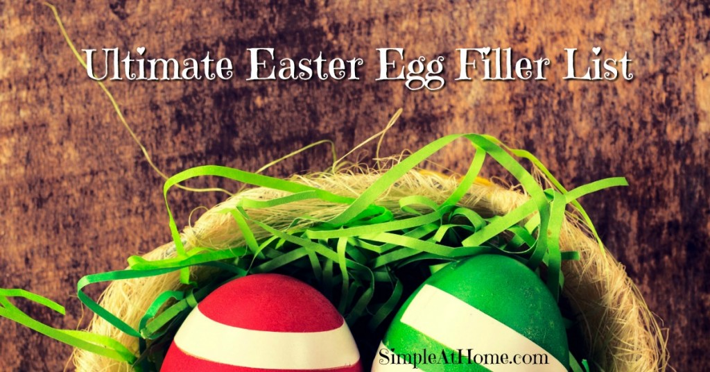 LOoking for food free easter egg fillers? This list will give you plenty of ideas/