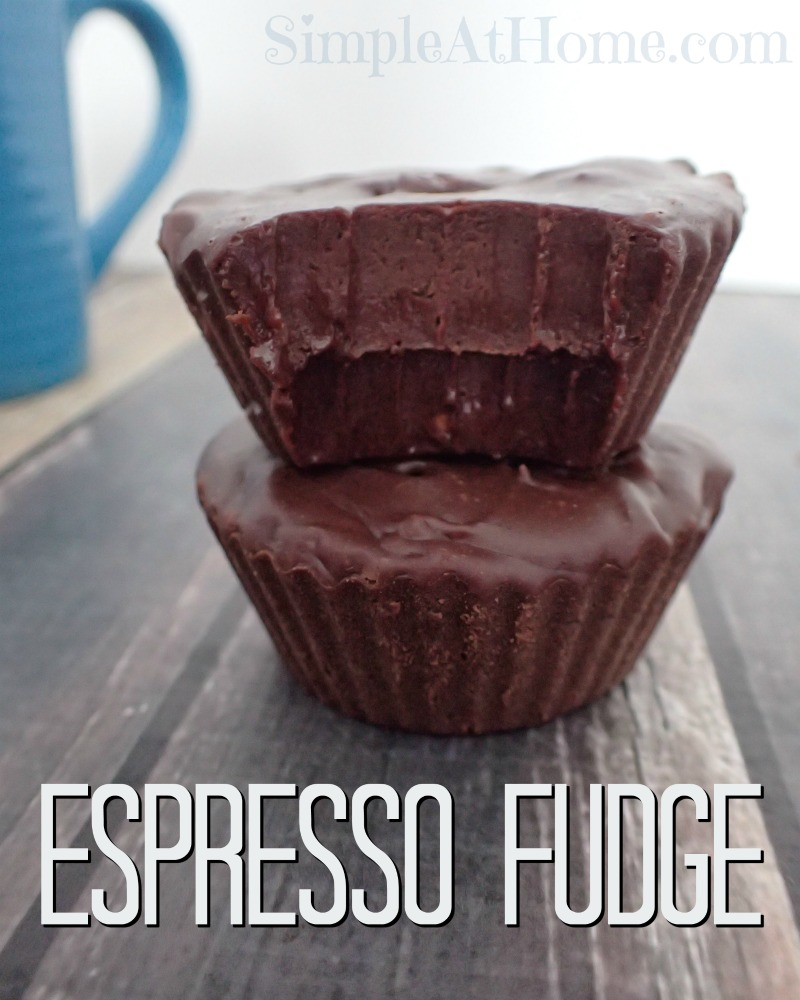 Simple espresso fudge you can make at home