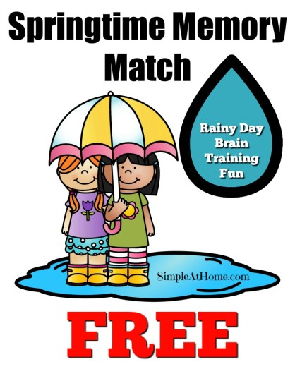 Make rainy days fun with these free printables and fun ideas for kids