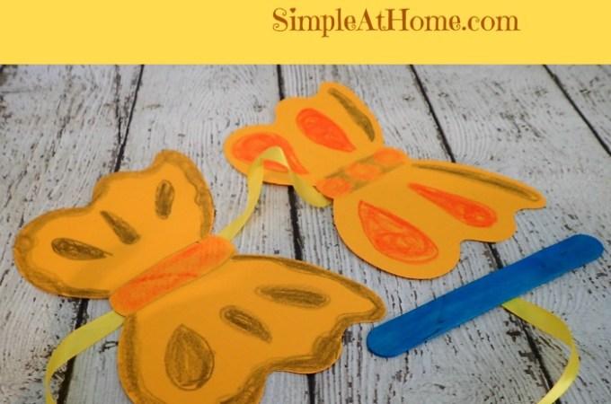 Butterfly Ribbon Dancer Craft