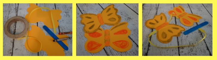 butterfly ribbon dancer craft how too