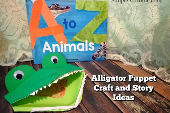 Alligator Puppet Plus Story List