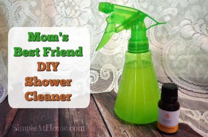Mom's Best Friend DIY Shower Cleaner